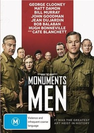 The Monuments Men on DVD
