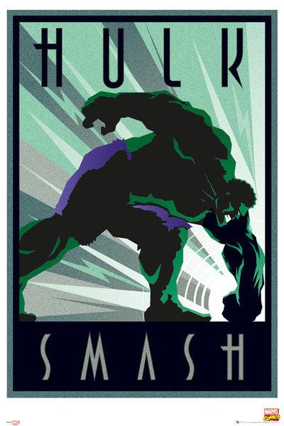 Marvel Maxi Poster - Retro Hulk (257)