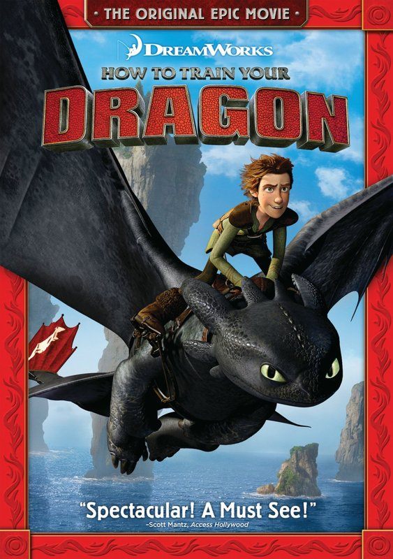 How to Train Your Dragon on DVD