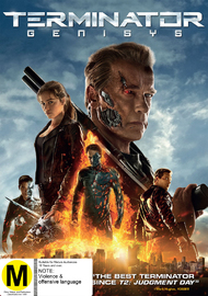 Terminator Genisys on DVD image