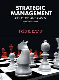 Strategic Management by Fred R. David image