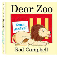Dear Zoo Touch and Feel Book by Rod Campbell image