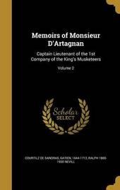 Memoirs of Monsieur D'Artagnan by Ralph 1865-1930 Nevill image