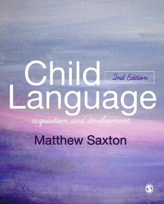 Child Language by Matthew Saxton