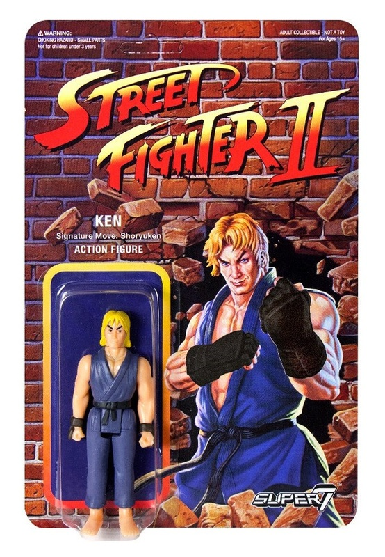 "Street Fighter II: Ken - 3.75"" CE Retro Action Figure"