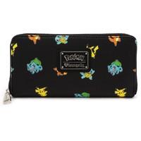 Loungefly: Pokemon Starters Print - Fashion Wallet