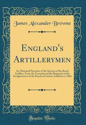 England's Artillerymen by James Alexander Browne image