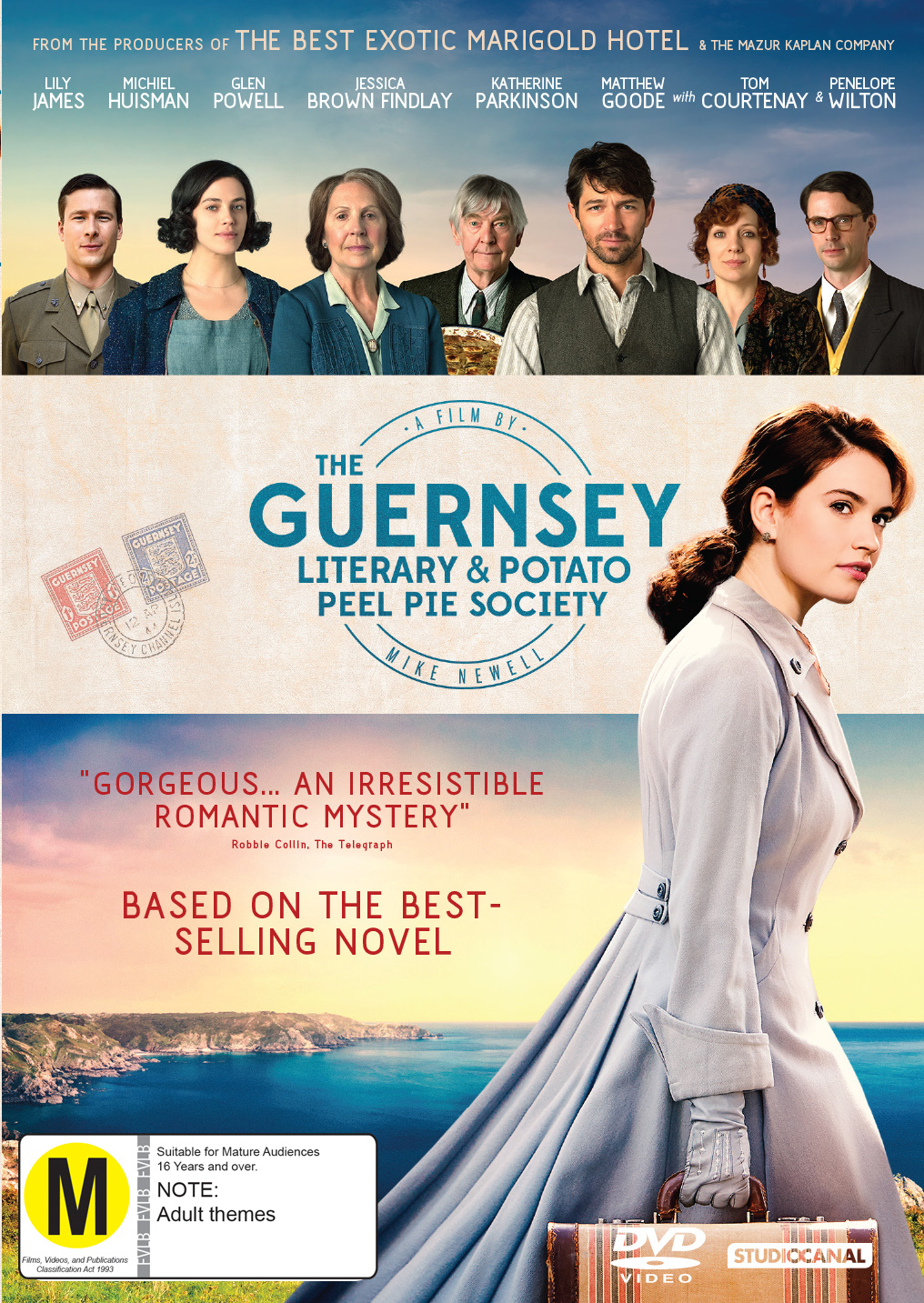 The Guernsey Literary And Potato Peel Society on DVD image