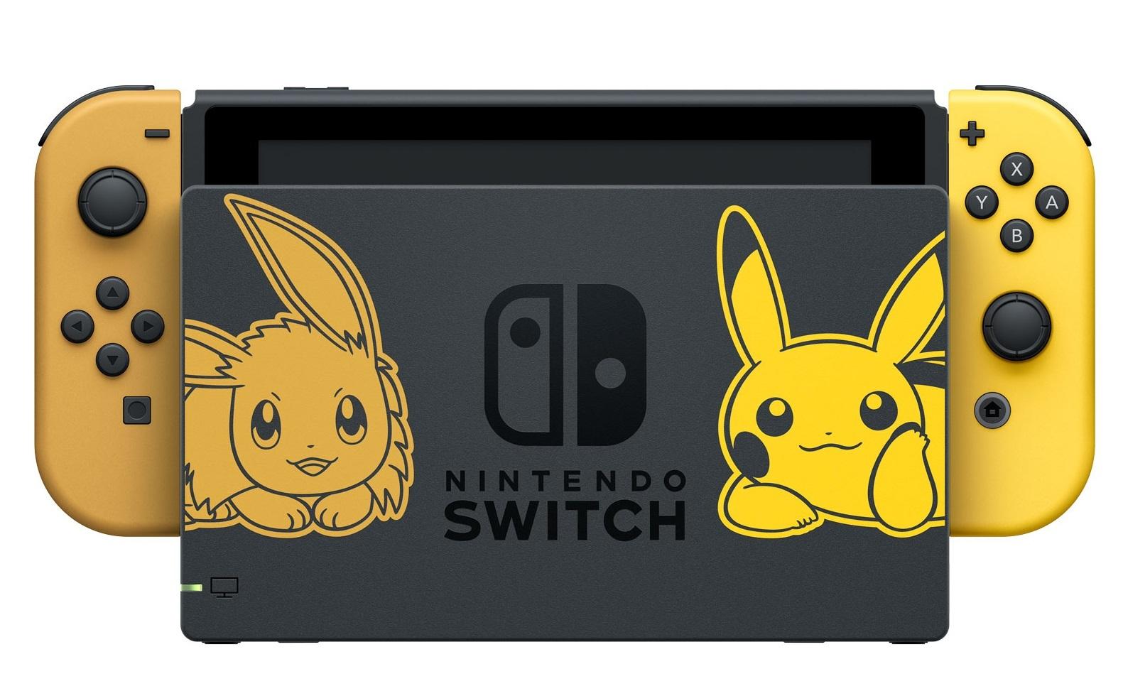 Nintendo Switch Console - Pokemon: Let's Go, Pikachu! for Nintendo Switch image