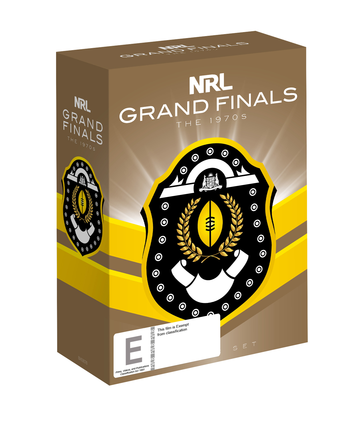 NRL The Grand Finals Collection The 1970s on DVD image