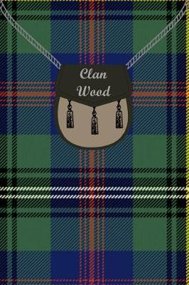 Clan Wood Tartan Journal/Notebook by Clan Wood