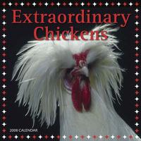 Extraordinary Chickens 2008 Wall Calendar: 2008 by Lisa Knapp image