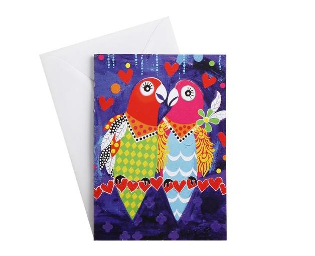 Maxwell & Williams: Love Hearts Greeting Card - Love Birds