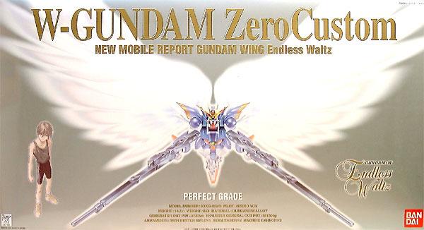 PG 1/60 Wing Gundam Zero Custom - Model Kit