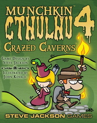 Munchkin Cthulhu 4 - Crazed Caverns Expansion image
