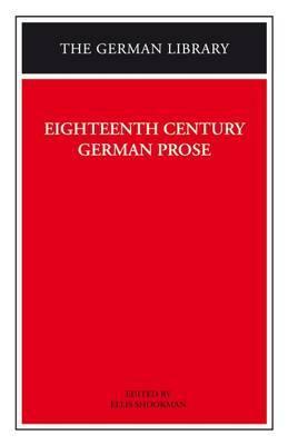 Eighteenth Century German Prose