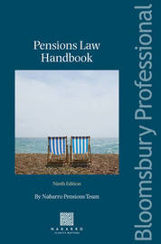 Pensions Law Handbook by Pensions Dept Nabarro Nathanson image