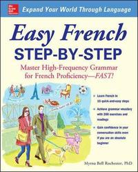 Easy French Step-by-Step by Myrna Bell Rochester