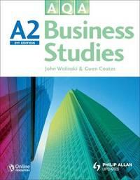 AQA A2 Business Studies by John Wolinski image