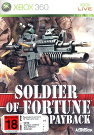 Soldier Of Fortune: Payback for Xbox 360 image