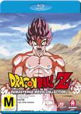 Dragon Ball Z: Remastered Movie Collection 1 (uncut) (Movies 1-6 + Specials) on Blu-ray
