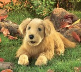 Folkmanis: Hand Puppet - Golden Retriever