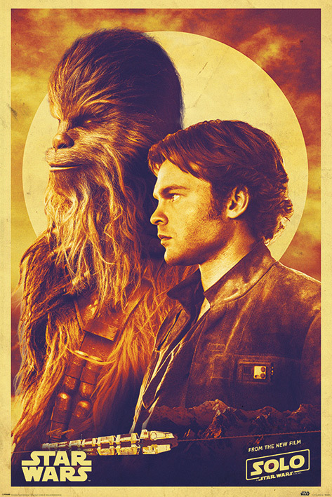 Star Wars Maxi Poster - Han And Chewie (807)