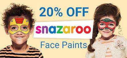 20% off Snazaroo