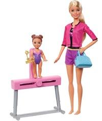 Barbie Careers - Gymnastic Coach Playset (Blond)