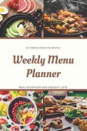Weekly Menu Planner by Tomger Meal Planners