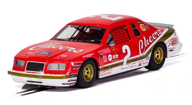 Scalextric: Ford Thunderbird #9 (Red & White) - Slot Car