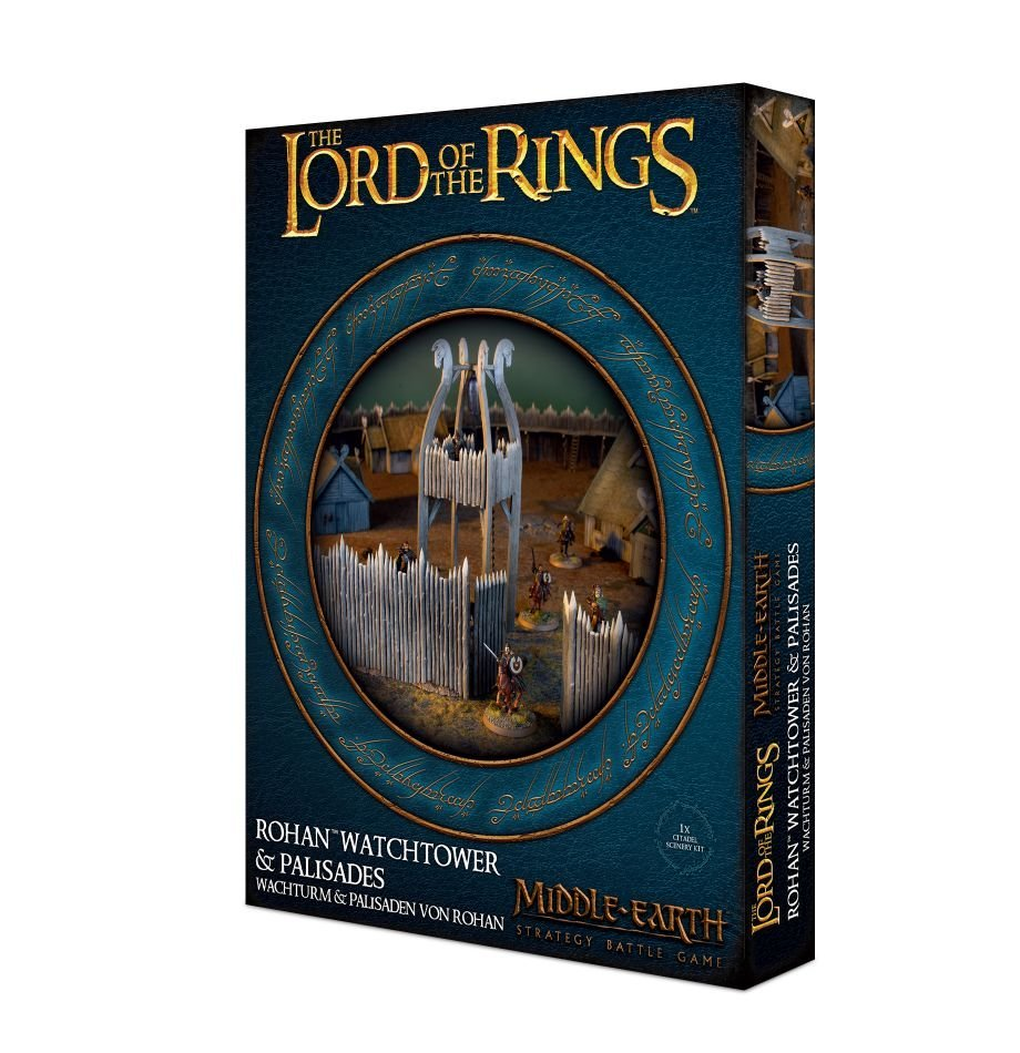 Middle Earth Strategy Battle Game: Rohan Watchtower & Palisades image