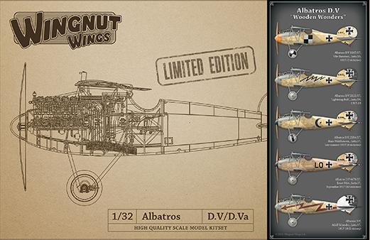 Wingnut Wings 1/32 Albatros D.V 'Wooden Wonders'