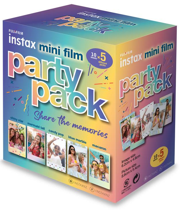 FujiFilm Instax Mini Film Party Pack (50 Pack)