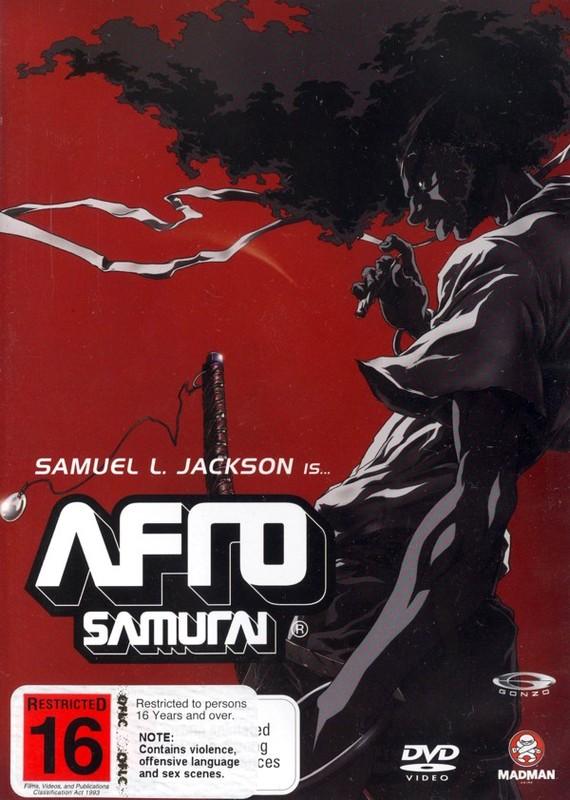 Afro Samurai on DVD