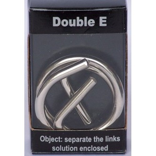 Chrome Puzzle 'Double E'