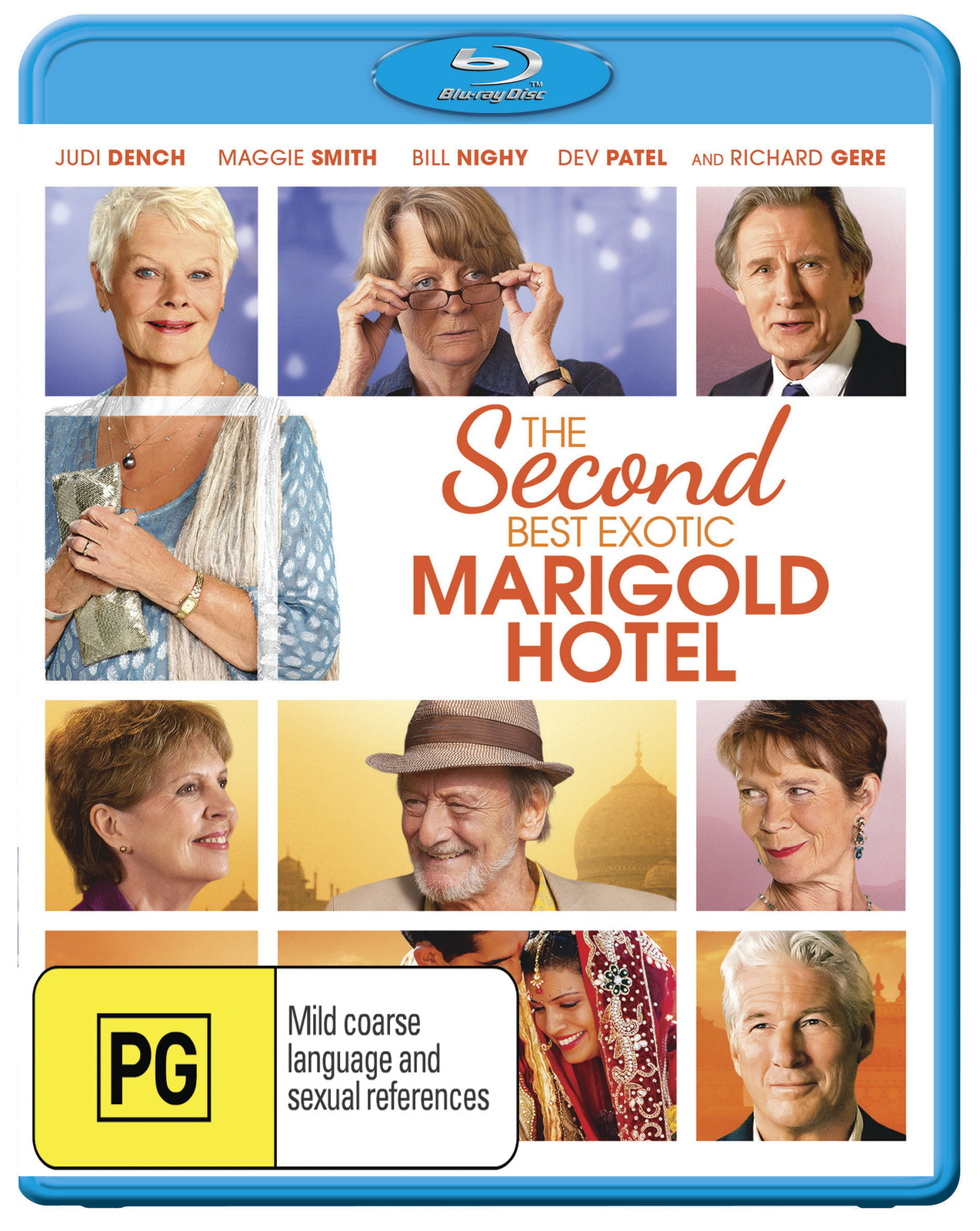 The Second Best Exotic Marigold Hotel on Blu-ray image