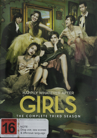 Girls - The Complete Third Season on DVD