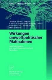 Wirkungen Umweltpolitischer Massnahmen by Joachim Frohn