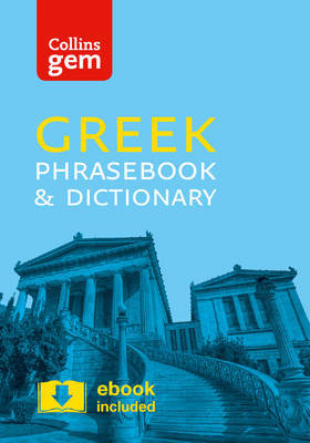 Collins Greek Phrasebook and Dictionary Gem Edition by Collins Dictionaries
