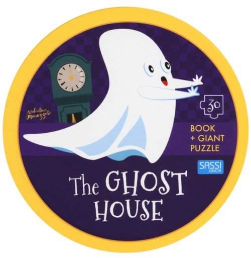 Sassi: Book & Giant Puzzle - The Ghost House by Valentina Manuzzato