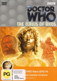 Doctor Who: The Claws of Axos on DVD image