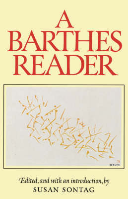 A Barthes Reader by Roland Barthes