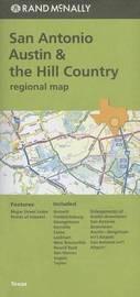 Folded Map San Antonio TX Regional by Rand McNally