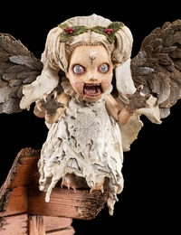 Krampus: The Cherub Statue - by Weta