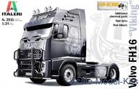 """Italeri 1/24 Volvo FH16 """"Viking"""" Scale Model Kit"""