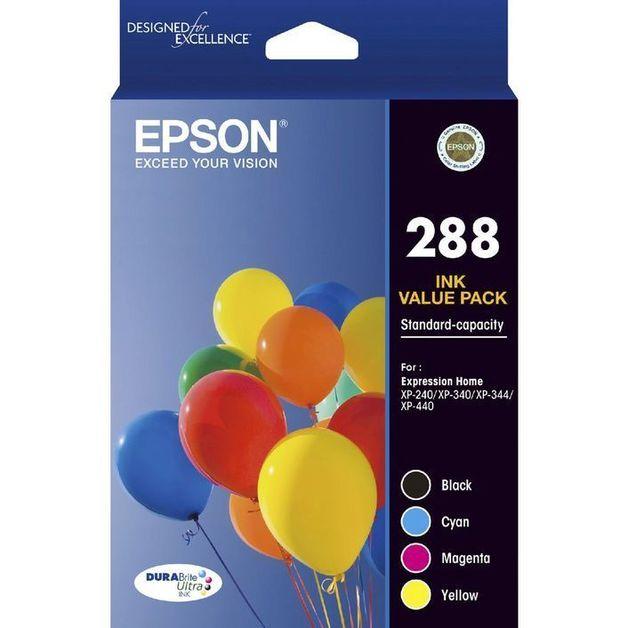Epson 288 4 Colour Pack Durabrite Ink