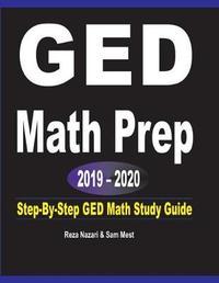 GED Math Prep 2019 - 2020 by Reza Nazari image