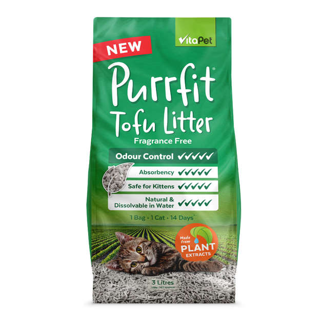 Vitapet: Natural Tofu Litter (3L)