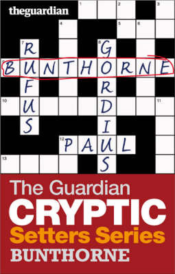 """The """"Guardian"""" Cryptic Crosswords Setters Series image"""